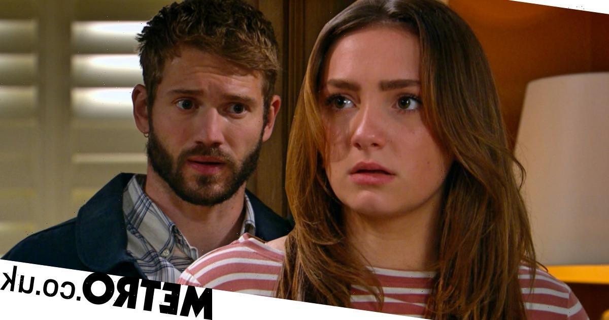 Gabby's horror as Jamie breaks into Home Farm in new Emmerdale video