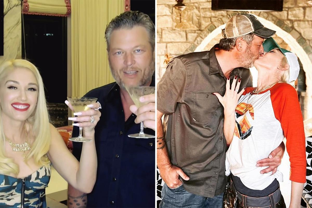 Inside Gwen Stefani & Blake Shelton's Oklahoma compound featuring horse farm & chapel where they quietly tied the knot