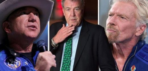 Jeremy Clarkson rages at do-gooders in leftie suits over Branson and Bezos space flight