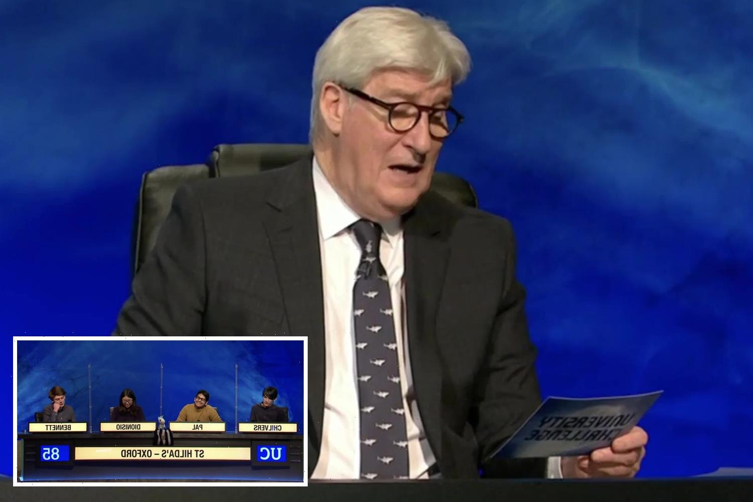 Jeremy Paxman leaves University Challenge fans FUMING as he accepts 'wrong' answer in tense maths round
