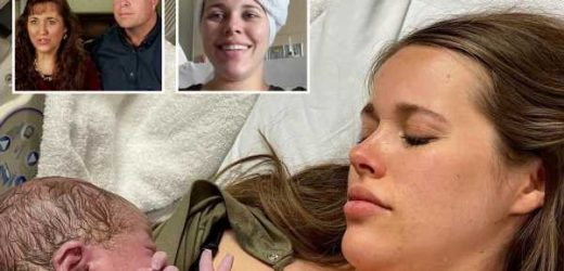 Jessa Duggar boasts about getting an epidural after giving birth despite family's strict beliefs against modern medicine