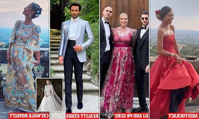 Kitty Spencer's glamorous wedding guest list revealed