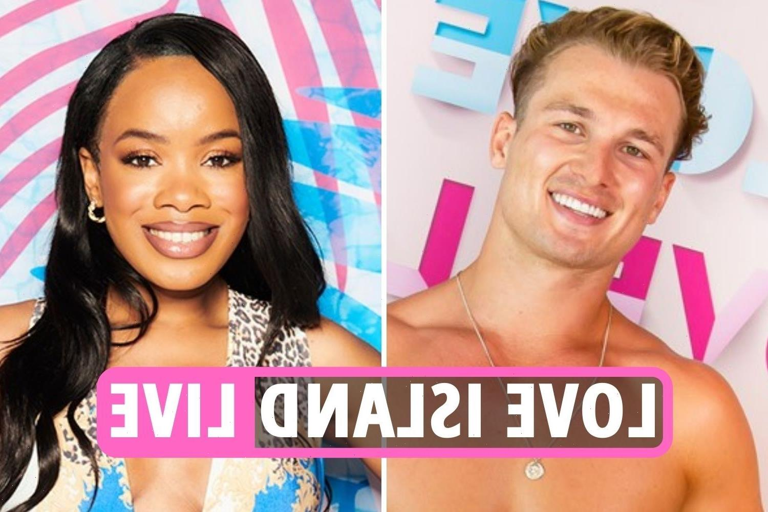 Love Island 2021 LIVE – Chuggs DITCHED as Brad and Rachel get steamy under covers in the villa's sexiest night yet
