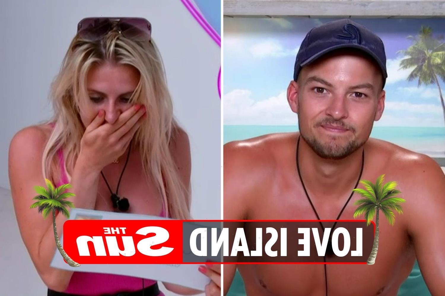 Love Island fans claim shocking postcard is from Hugo as he 'rats out all the boys who cheated' in Casa Amor