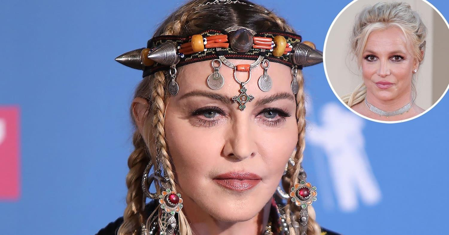 Madonna Compares Britney Spears' Conservatorship to 'Slavery' in Fiery Post