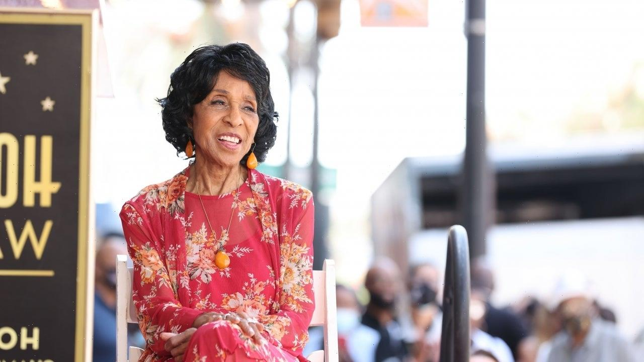 Marla Gibbs Got 'Overheated' at Hollywood Walk of Fame Ceremony