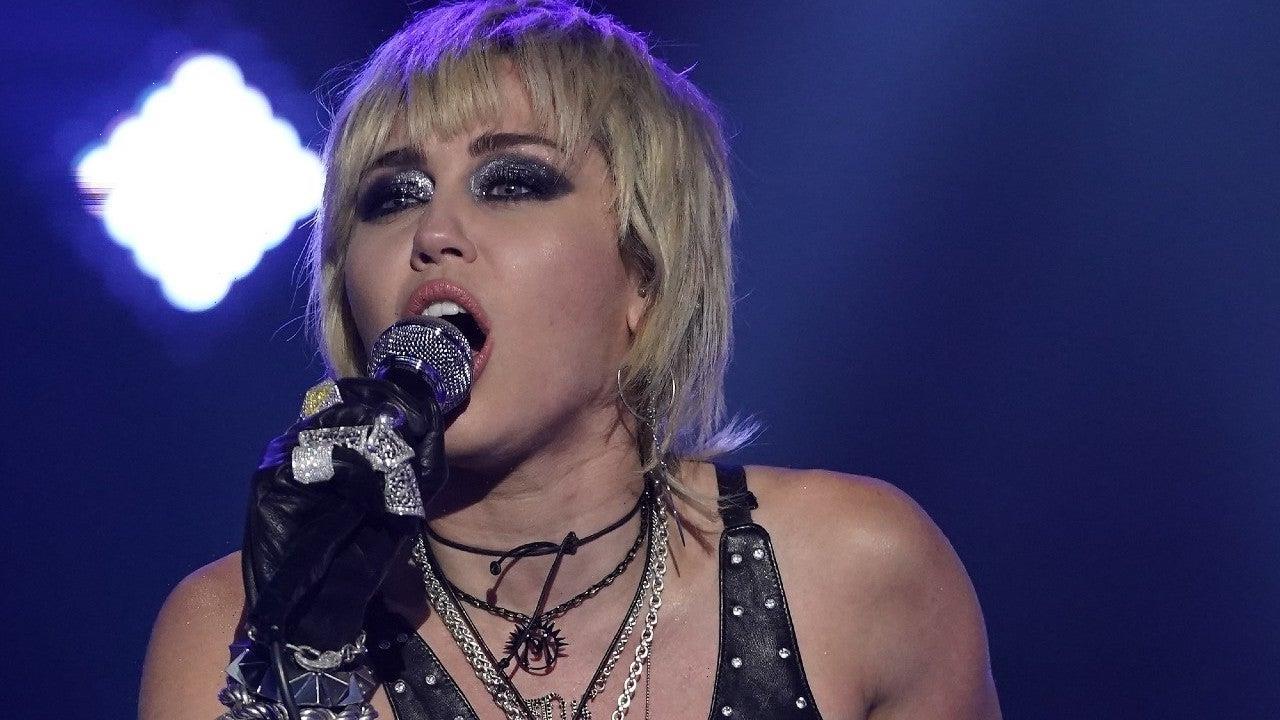 Miley Cyrus Chants 'Free Britney' During Las Vegas Concert
