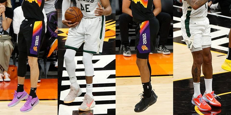 NBA 2021 Finals Game 1: Who Has the Best On-Court Kicks?