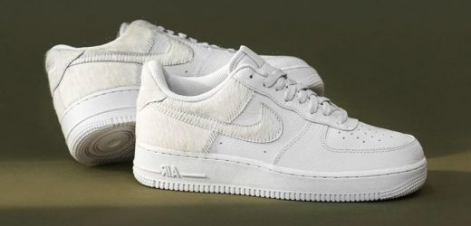 Nike Brushes Up the Air Force 1 With Pony Hair