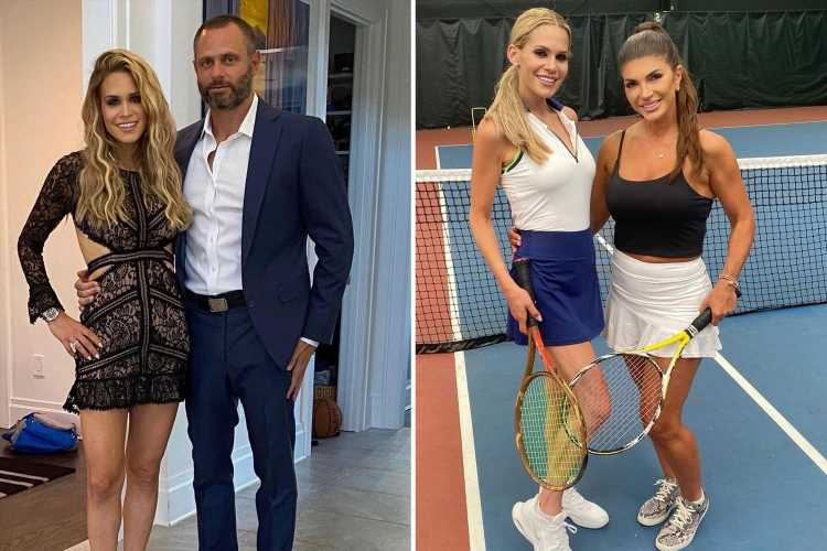 RHONJ's Teresa Giudice plays Tennis with 'bad b***h' costar Jackie Goldschneider after accusing her husband of cheating