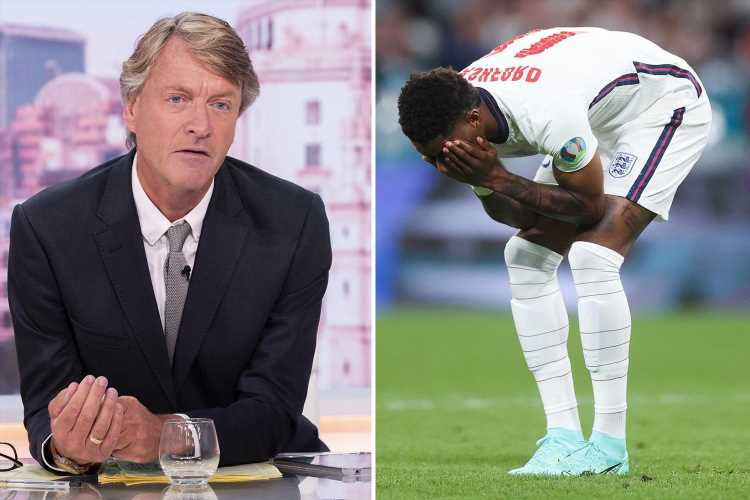 Richard Madeley demands the racist trolls abusing England players face court as he says 'enough is enough'