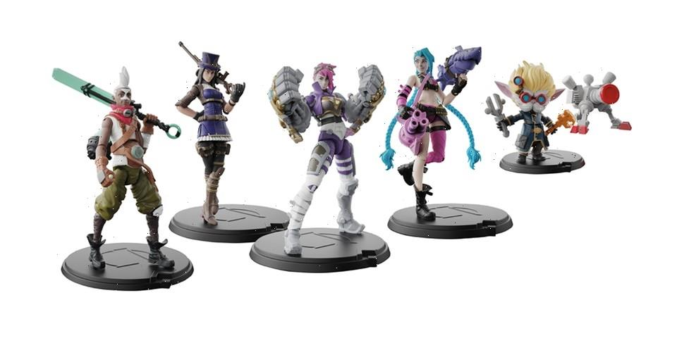 Spin Master Debuts 'League of Legends' Action Figures