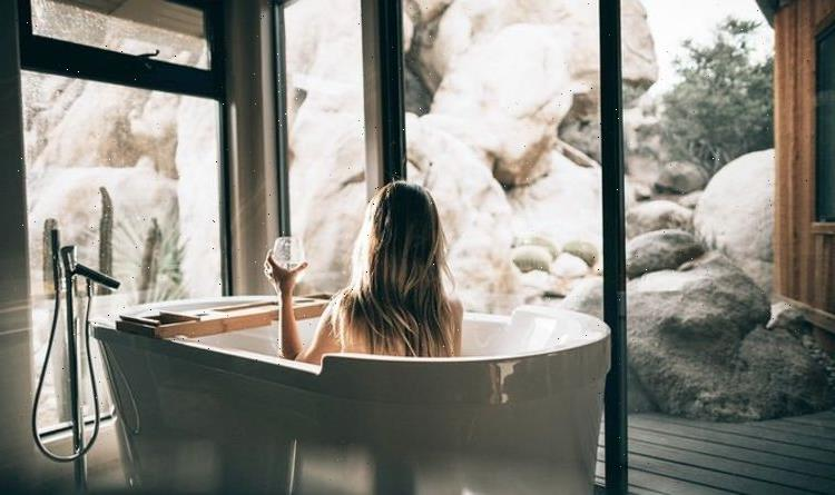 Taking a hot bath one of the simplest ways to cool down during heatwave