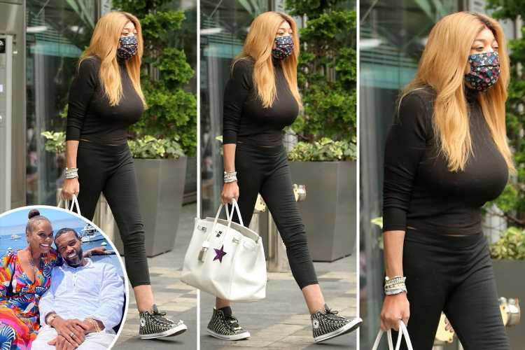 Wendy Williams looks glum leaving for last day of show taping after she was slammed for ripping Tabitha Brown's marriage