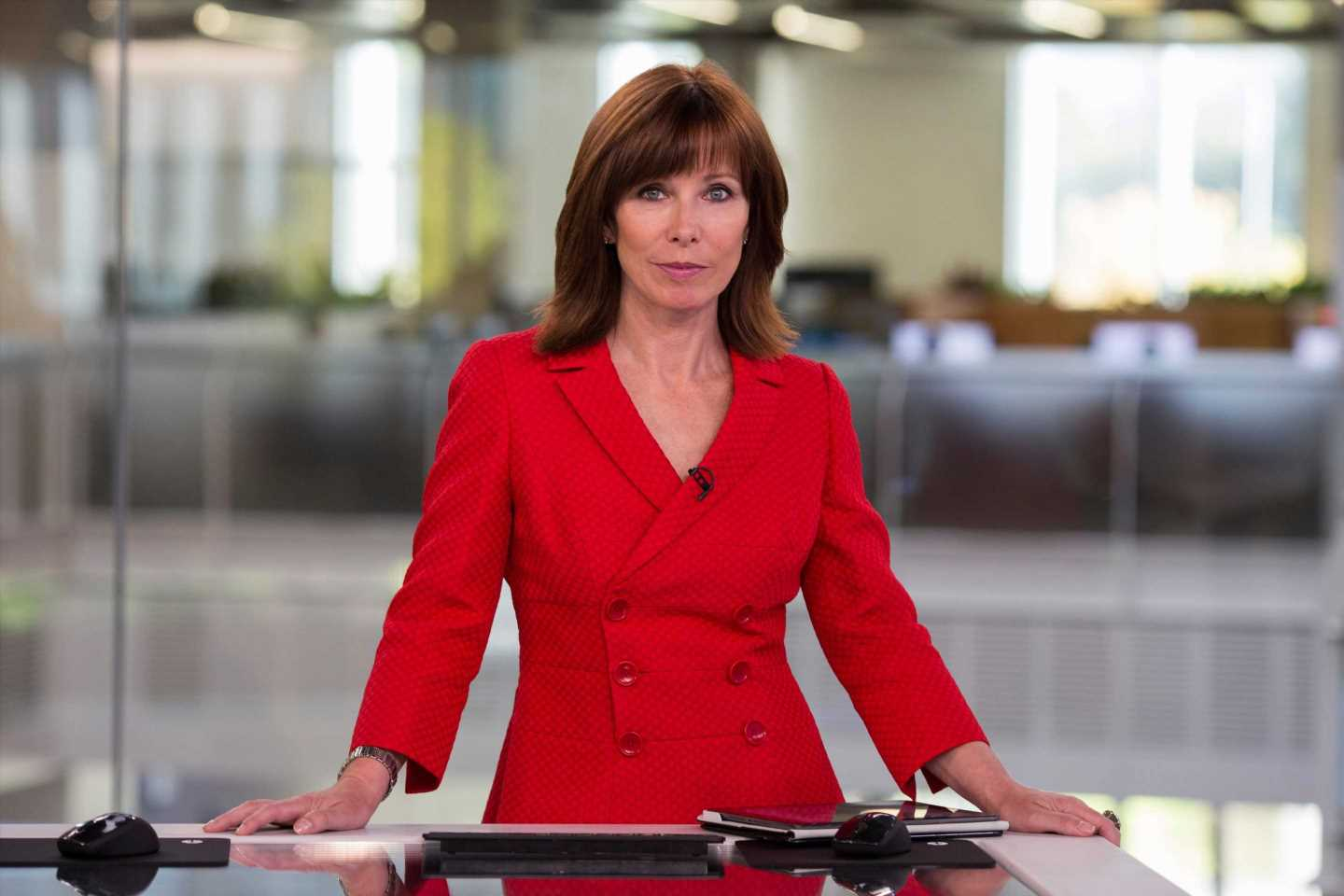 Where is Kay Burley today and why isn't she on Sky News?