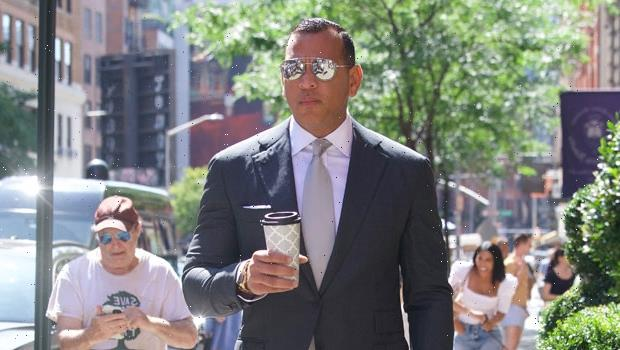 Alex Rodriguez Is Dapper In A Suit For NYC Stroll In 1st Photos After Ex J.Lo Unfollows Him & Deletes Photos