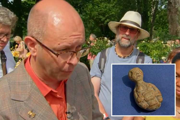 Antiques Roadshow expert REFUSES to value 'grotesque' carved figure found in a coal shed