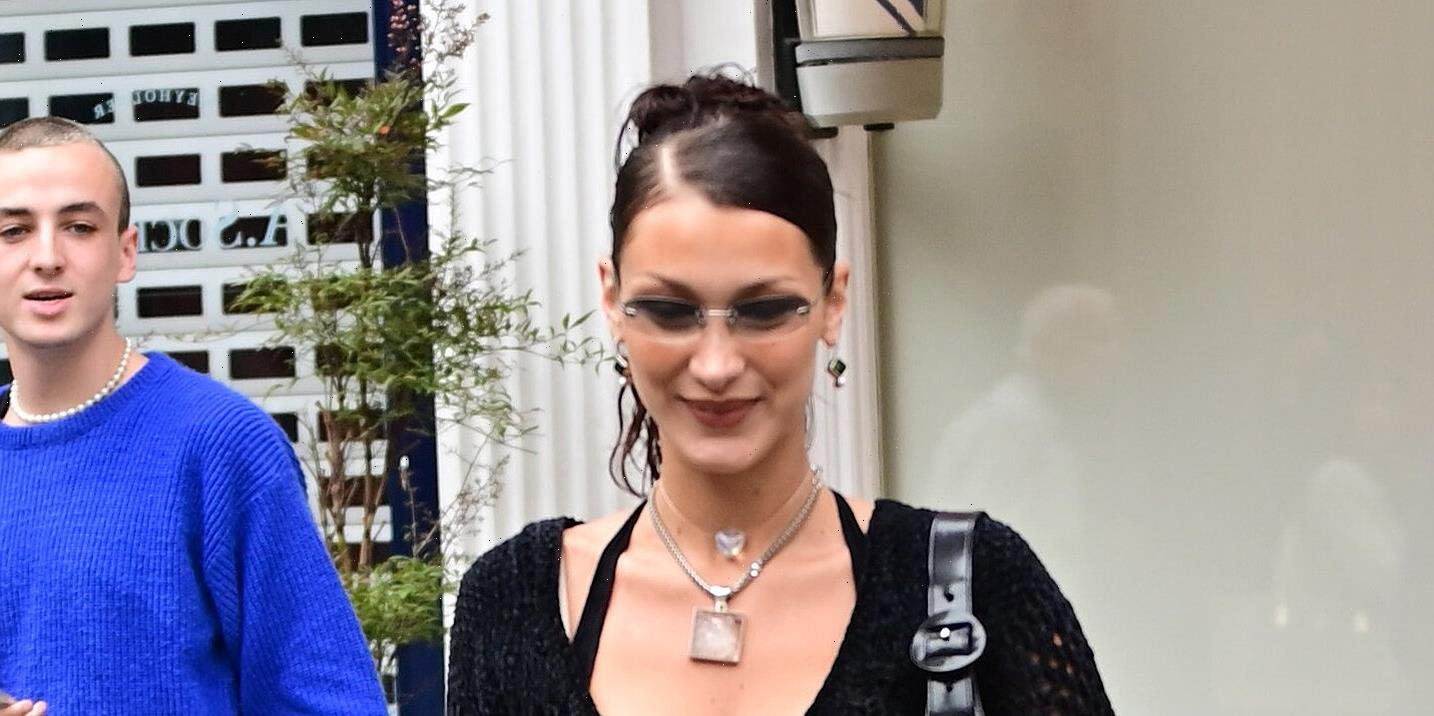 Bella Hadid Can't Stop Pulling Her Outfits From the Decade of Her Youth