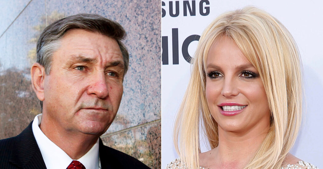 Britney Spears's Father Says He Will Step Aside in Conservatorship Battle