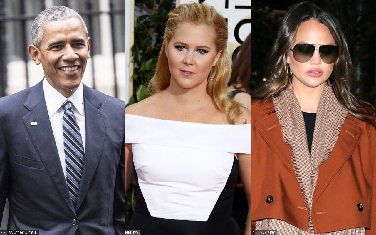 Chrissy Teigen Reacts to Amy Schumer Mocking Her Singing Happy Birthday to Barack Obama