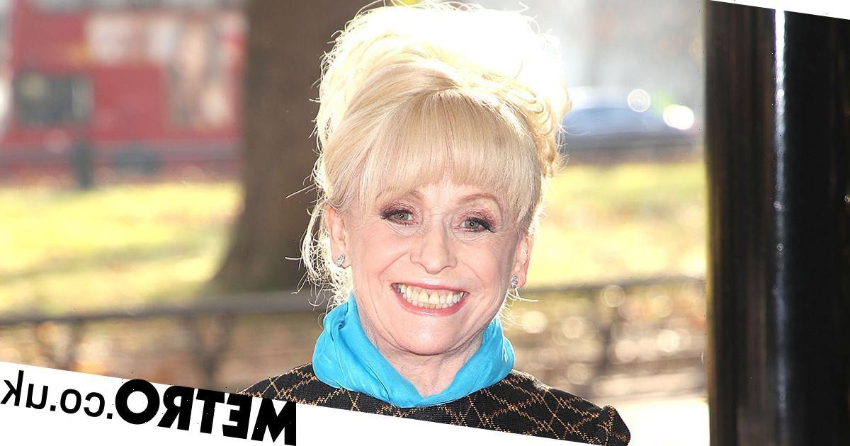 Dame Barbara Windsor's loved ones 'scatter ashes and unveil heartwarming plaque'