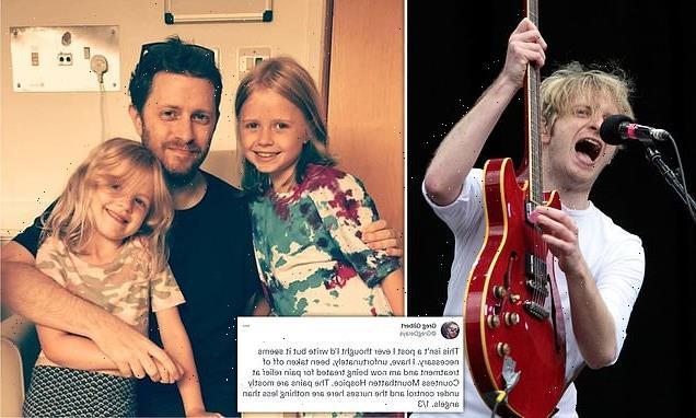 Delays singer Greg Gilbert stops treatment for Stage 4 bowel cancer