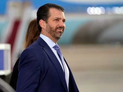 Donald Trump Jr. Once Again Objected to Men Showing Emotion After President Biden's White House Address