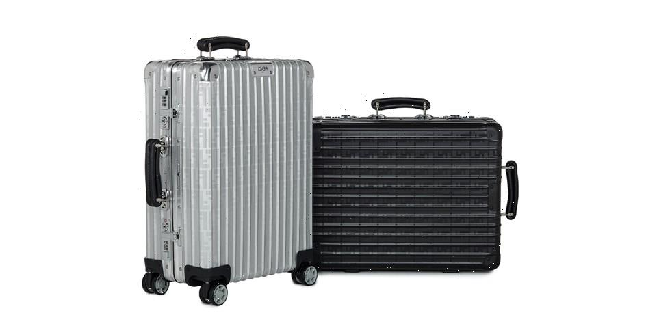 Fendi Partners With Rimowa for an Exclusive One-of-a-Kind Suitcase