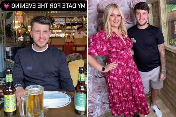 Gogglebox's Ellie Warner posts rare pic of boyfriend Nat on romantic dinner date