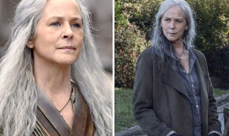 How old is Carol in The Walking Dead?