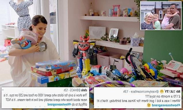 How to Save a Grand in 24 Hours viewers slam couple for toy spend