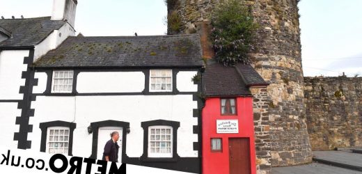 Inside the smallest house in Britain that's just 6ft wide