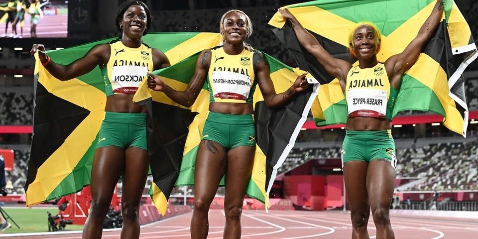 Jamaica Sweeps Women's 100m Sprint at Tokyo Olympics