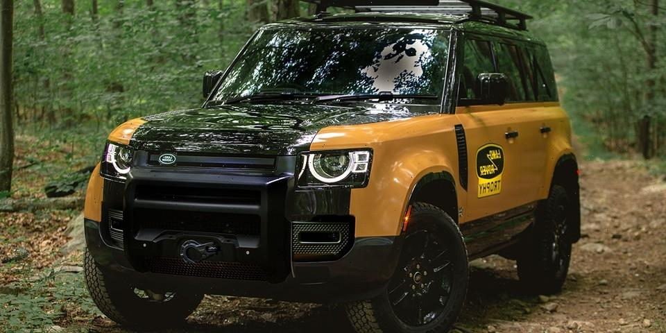 Land Rover Gives Its 2022 Defender the Camel Trophy Treatment