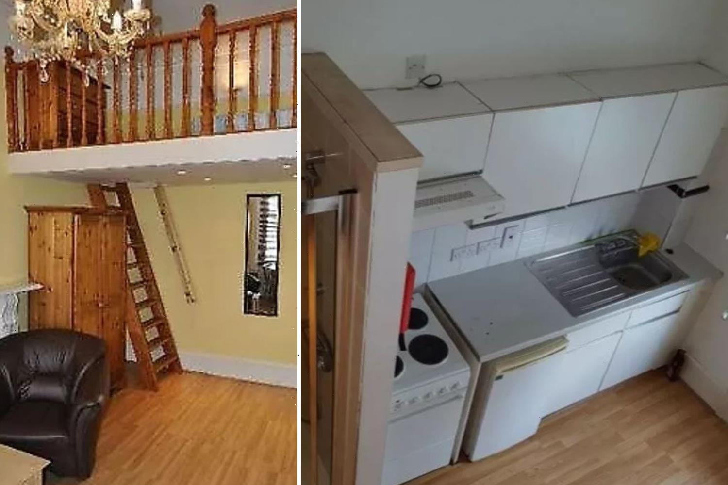 London flat is £800-a-month but missing crucial feature – it has NO toilet