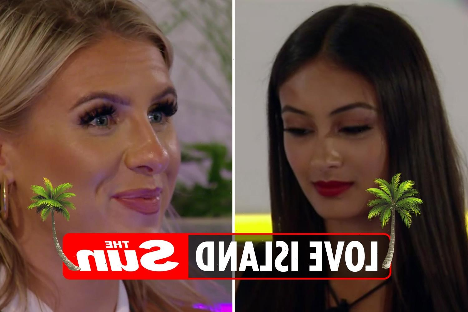 Love Island fans convinced they've spotted a 'secret feud' between two girls in the villa – but did you see it?