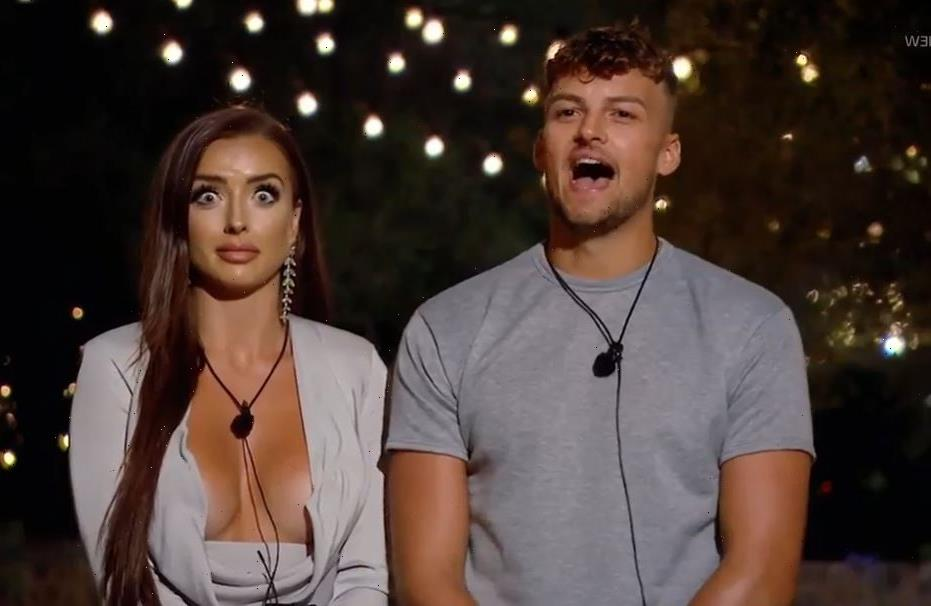 Love Island's Hugo and Amy arrive back in the UK separately after that VERY awkward villa exit
