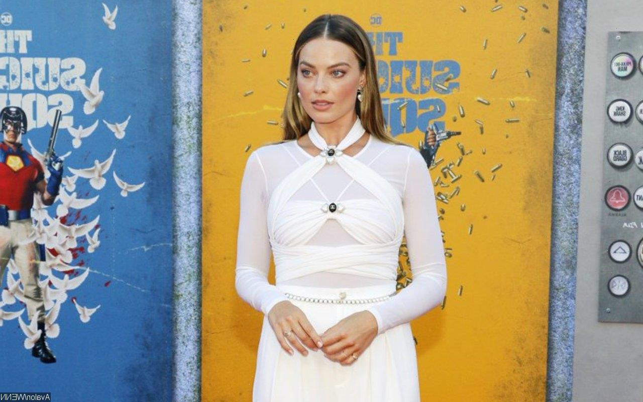 Margot Robbie Wears Quirky Chanel Jumpsuit at The Suicide Squad Premiere