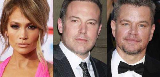 Matt Damon Enjoys Third-Wheeling Ben Affleck and Jennifer Lopez During Couples Beach Date