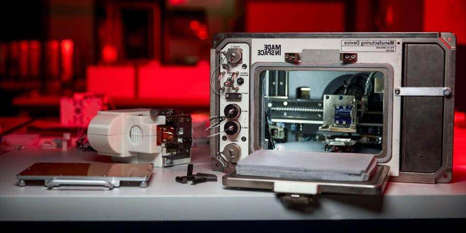 NASA Tests 3D Moon Dust Printer on the International Space Station