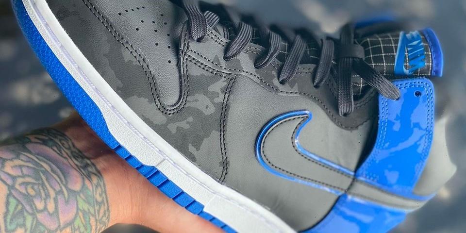 "Nike Gives the Dunk High SE a ""Royal"" Treatment"