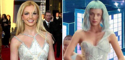 Olivia Rodrigo Gives Britney Spears a Major Fashion Nod in 'Brutal' Music Video