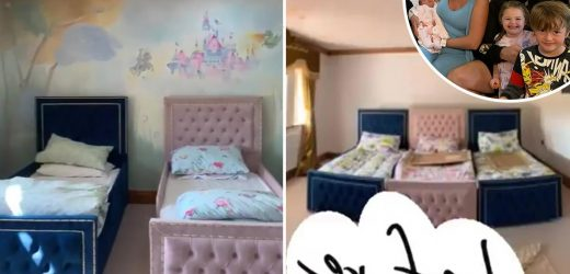 Paris Fury reveals incredible nursery transformation after she and Tyson bring baby Athena home from hospital