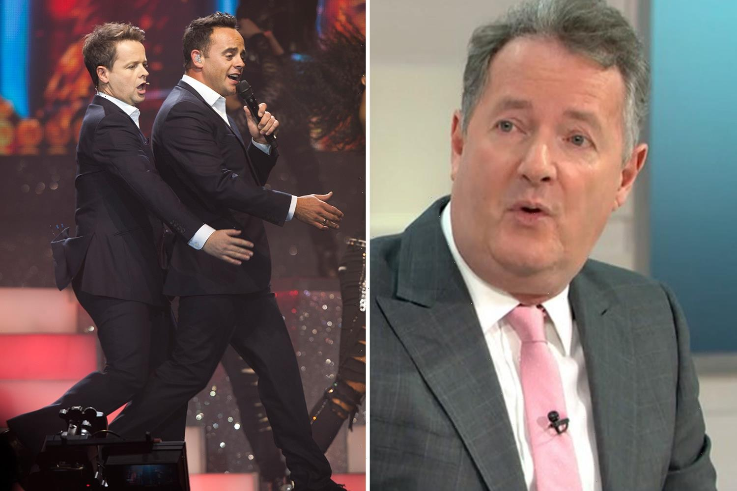 Piers Morgan attacks Ant and Dec calling their NTA wins 'annoying and bloody boring' as he attempts to snatch crown