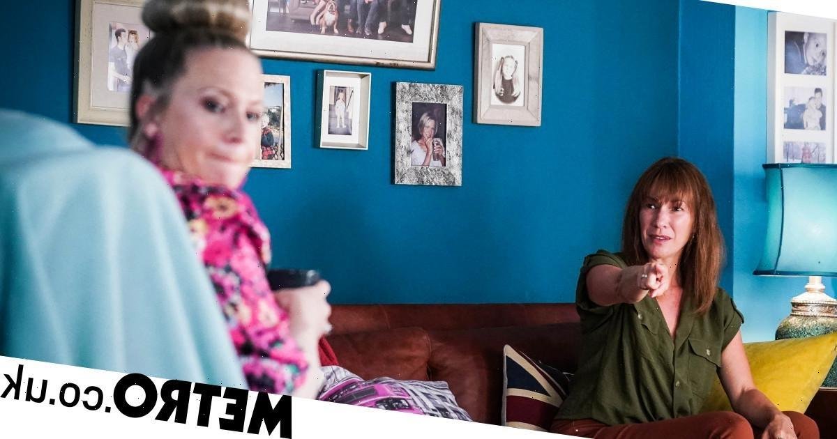 Rainie discovers that Max is the dad of Linda's baby in EastEnders?