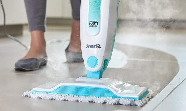 Shark's bestselling steam mop is on sale for £49