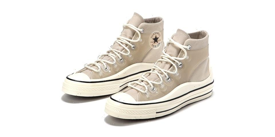 """The Converse Chuck 70 Utility """"String/Egret"""" Just Released"""