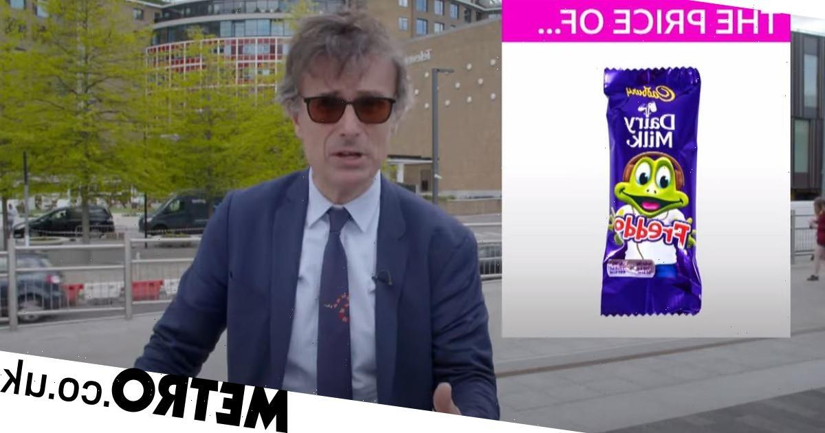The number of Freddos you can buy today compared to 2000 is nauseating