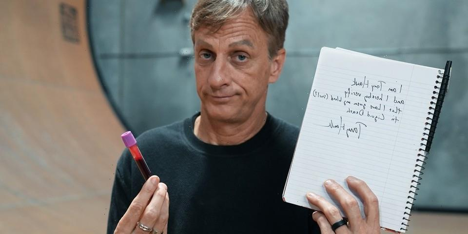 Tony Hawk Teams Up With Liquid Death To Release Skateboard Decks Infused With His Blood