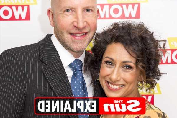 Who is Saira Khan's husband Steve Hyde?